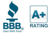 A+ rating from the Better Business Bureau